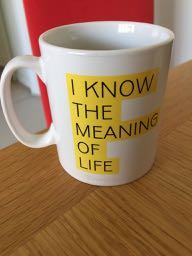 Magazine Tea Mug
