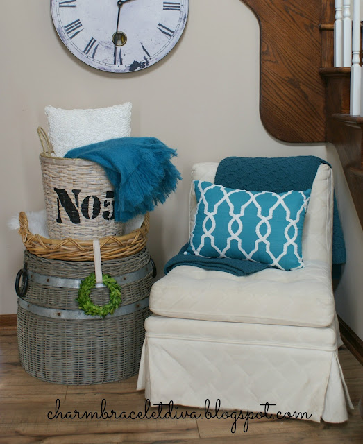 basket home storage solution