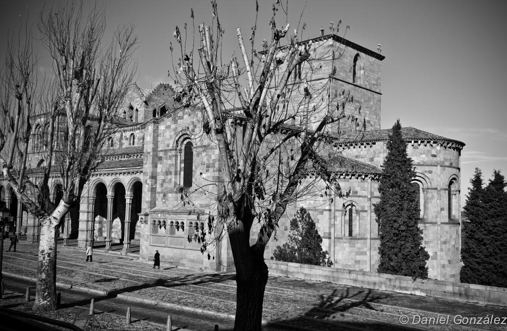 Iglesia de San Vicente, Avila 2013
