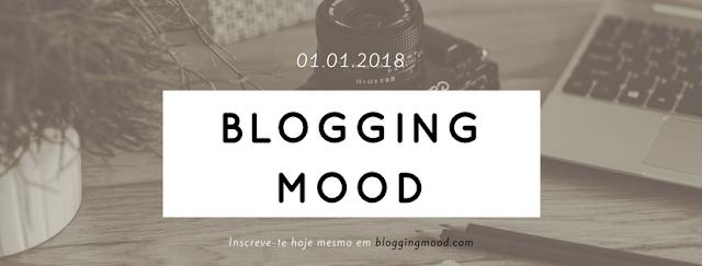 O nascimento do Blogging Mood está marcado para 01.01.2018
