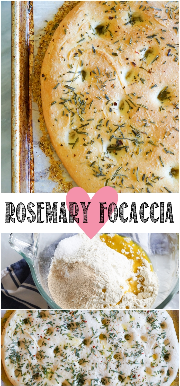 simple rosemary focaccia | bakeat350.net for The Pioneer Woman Food & Friends