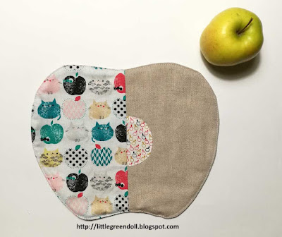 Place mat apple individuales Dashwood Studio