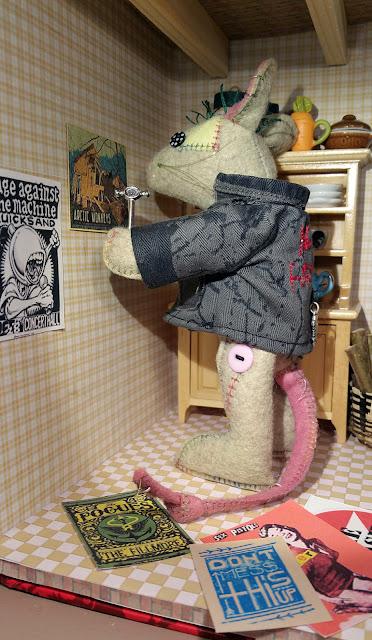 posters punk musique souris mouse punkmusic