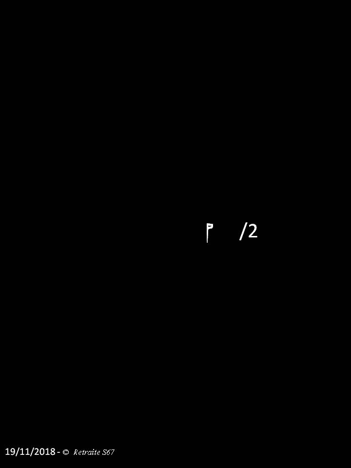 Retraite 4 :S84 e1-2/3-4/5-6/7-8/9-10/S85 e1-2/3-4/5-6 - Page 3 Diapositive13