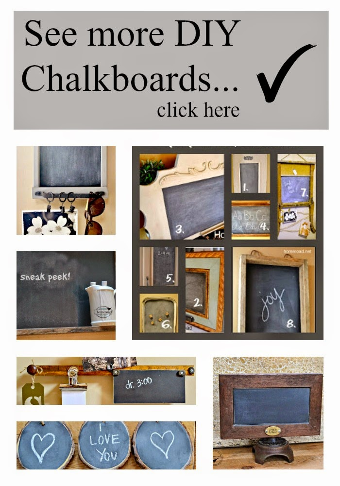 collage of chalkboard ideas