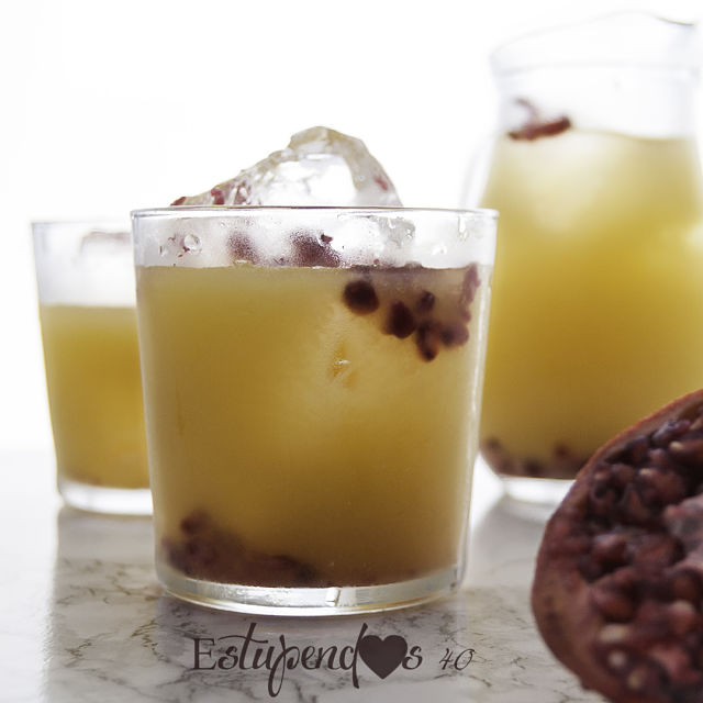 bebida-detox-de-té-verde-granada-y-mango