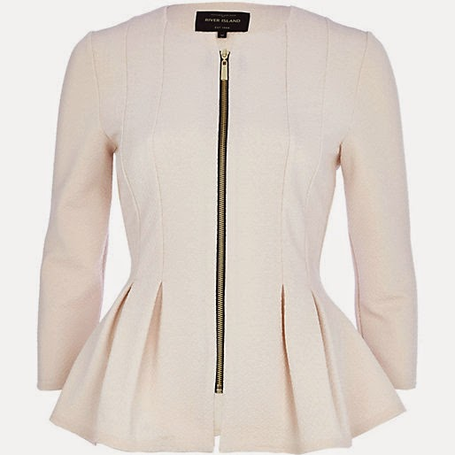 river island cream jacket