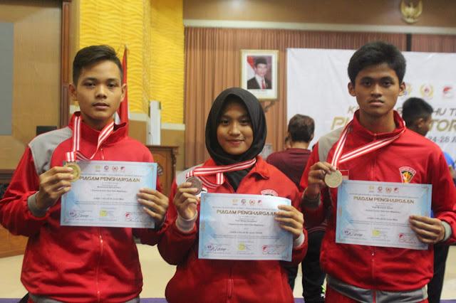Lagi, Atlit Wushu Guntur Geni Yonarmed 11 Kostrad Raih Juara di Semarang