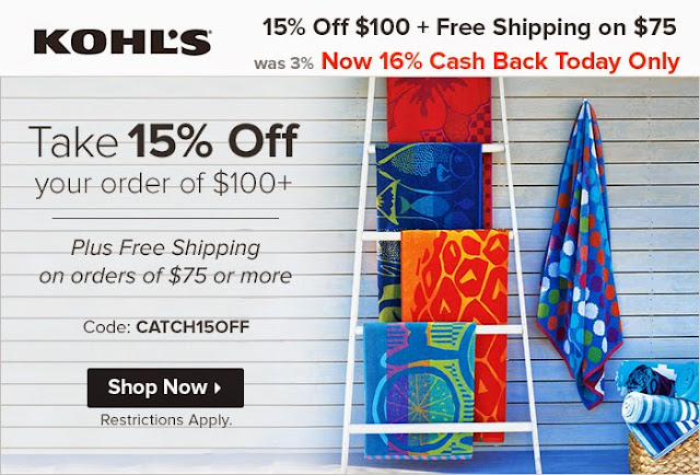 kohls clearance, kohls shopping deals, kohls free shipping, online cash back, ebates cash back, ebates daily deal