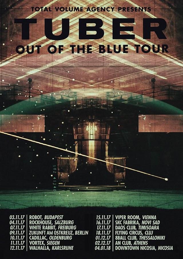 [News] TUBER on European tour [autumn.2017]