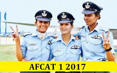 AFCAT & EKT 1 2017 Answer Key, Cutoff Marks, Result Date