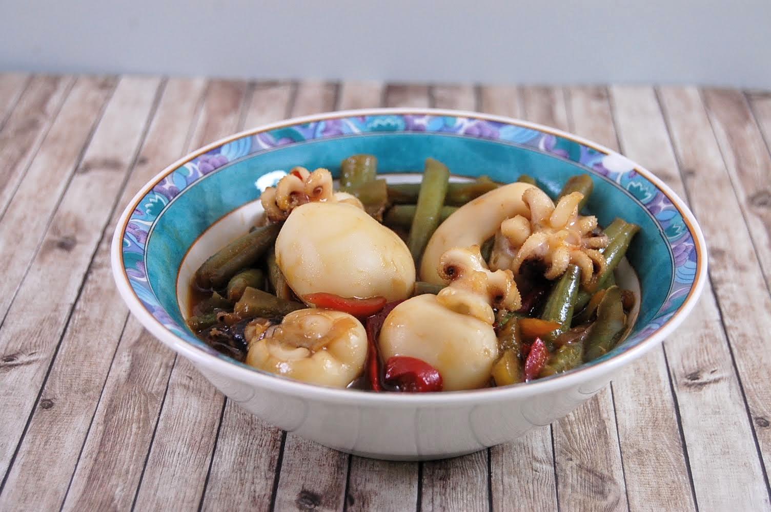 Rezept Tintenfisch Wok Gemüse wie beim Chinesen