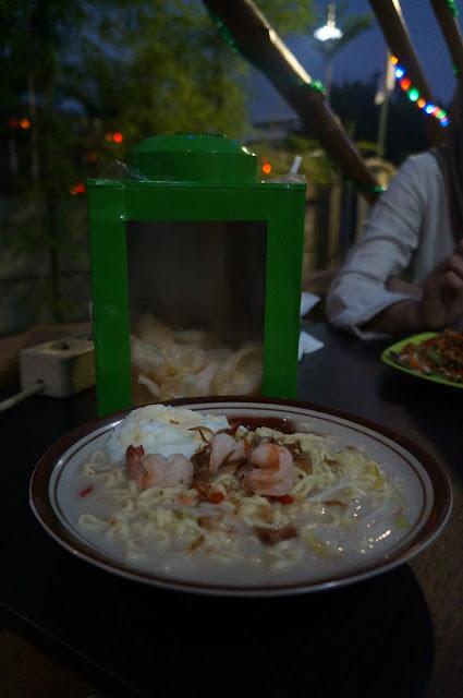 Mie Celor Palembang ala De' Green Pontianak