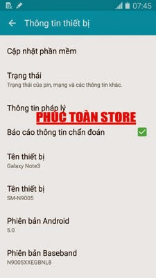 Tiếng Việt Note 3 N9005 Android 5.0 ok alt