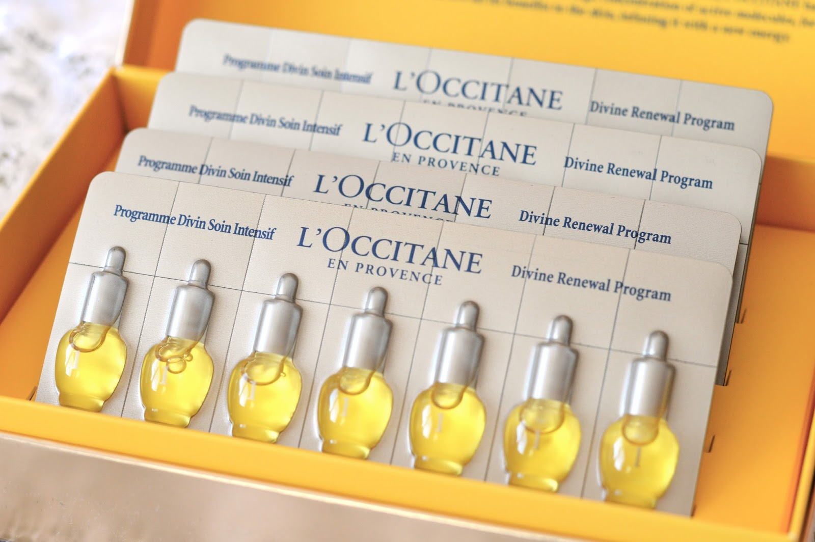 Review: L'Occitane Immortelle Divine Renewal Program