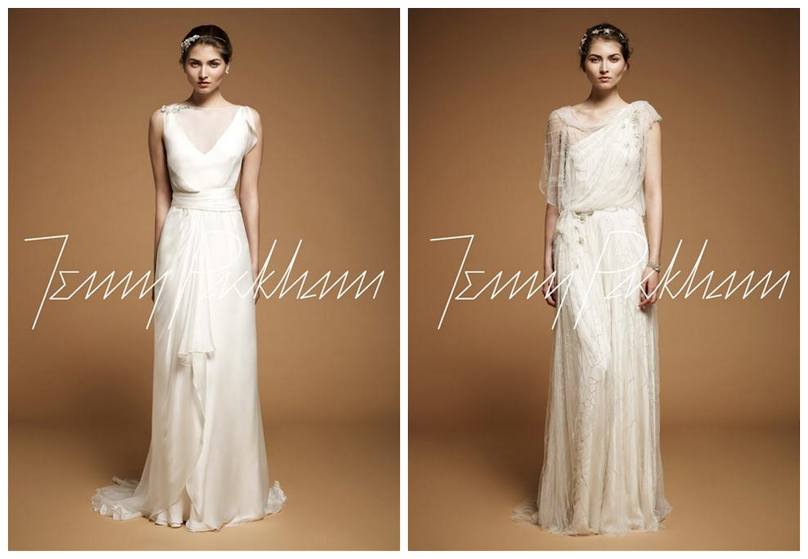 Sparkly wedding dresses by jenny packham for Second hand jenny packham wedding dress