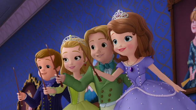 Nonton Film Sofia the First S02E21: Substitute Cedric (2015)
