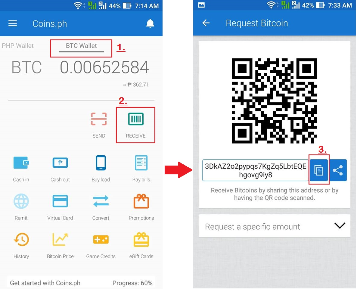 Bitcoin live trading a job for lazy that allows you to make your in order for you to have a new bitcoin address using the coins you must follow the 3 steps above as shown in the screen captured photo ccuart Images