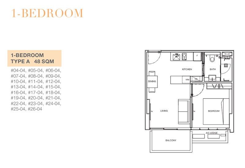 6 Derbyshire 1 bedroom