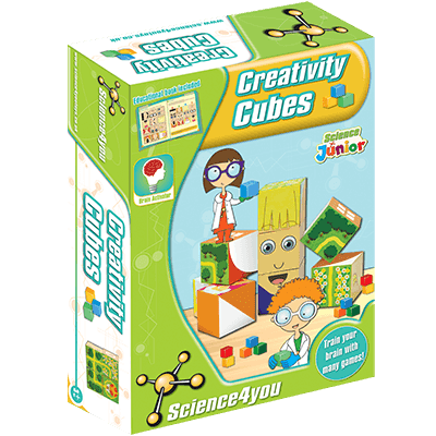 Science4You Creativity Cubes