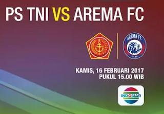 Arema FC Bantai PS TNI 4-0 Grup B Piala Presiden 2017