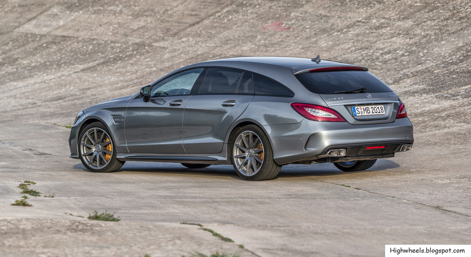 2015 mercedes benz cls 63 amg shooting brake high wheels. Black Bedroom Furniture Sets. Home Design Ideas