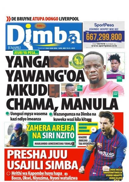 Magazeti Ya Leo JUMAPILI - Tanzania Today Newspaper 19 May,2019