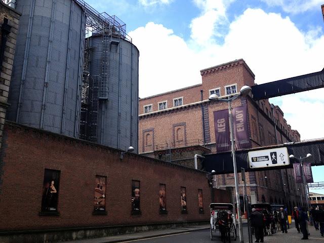 Fábrica de Guinness en Dublín