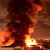 Nhà kho cảng Sài Gòn cháy, nổ kinh hoàng