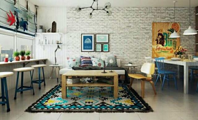 Cara desain interior rumah minimalis type 48