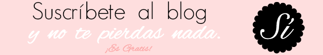 suscribete al blog