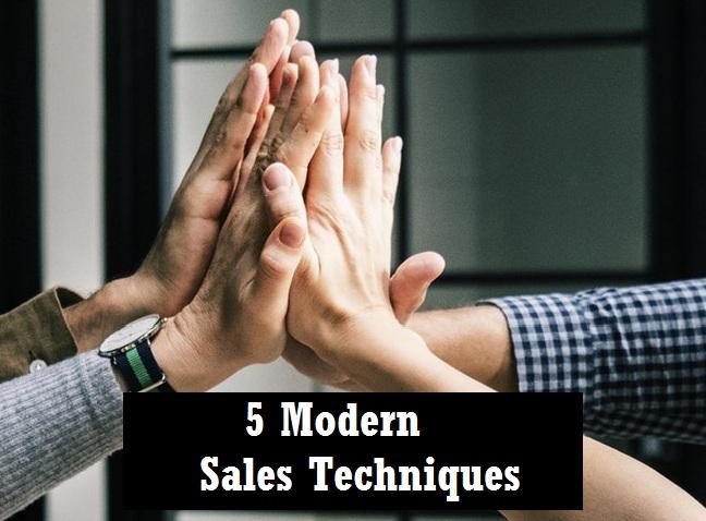 5 modern sales techniques