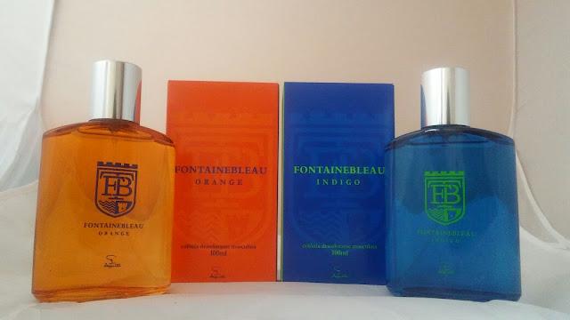 Perfume Masculino Fontainebleau Indigo e Orange Jequiti