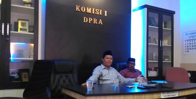Qanun KKR Aceh Belum Selesai di Pusat, Ini Kata Komisi I DPRA