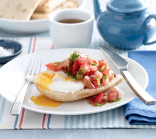 Poached Eggs On Turkish Toast Recipe