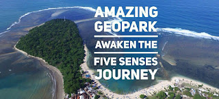 Ciletuh Amazing Geopark : Awaken Your Five Senses Journey.