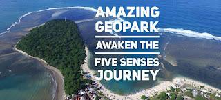 Ciletuh Amazing Geopark : Awaken Your Five Senses Journey.