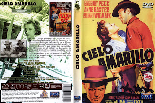 CARÁTULA: Cielo amarillo (1948) / DescargaCineClasico.Net