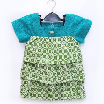 Contoh Model Baju Atasan Batik Modern