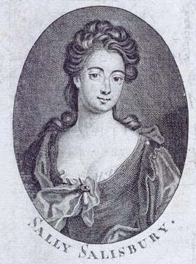 SALLY SALISBURY Una prostituta de Londres de principios del Siglo 18