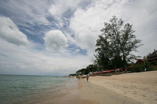 Spiaggia e mare vicino al Beluga boutique hotel-Koh Samui