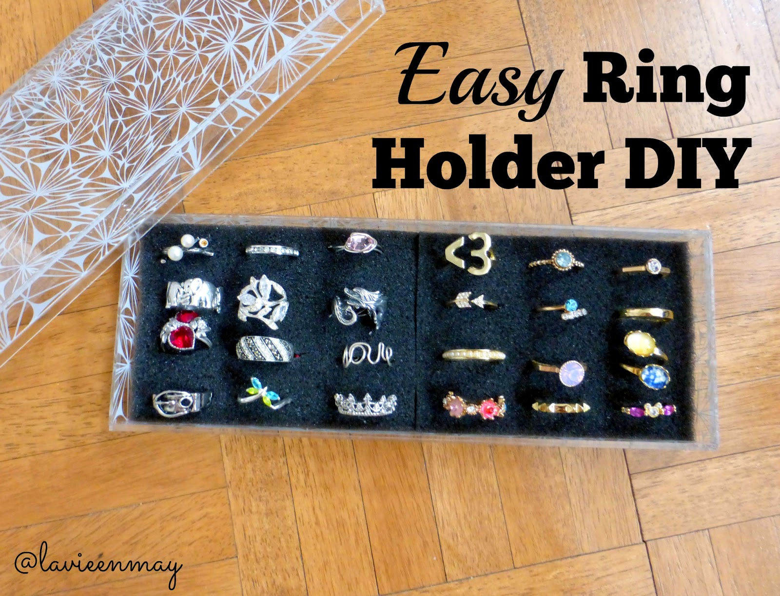 Diy Ring Holder And Disply