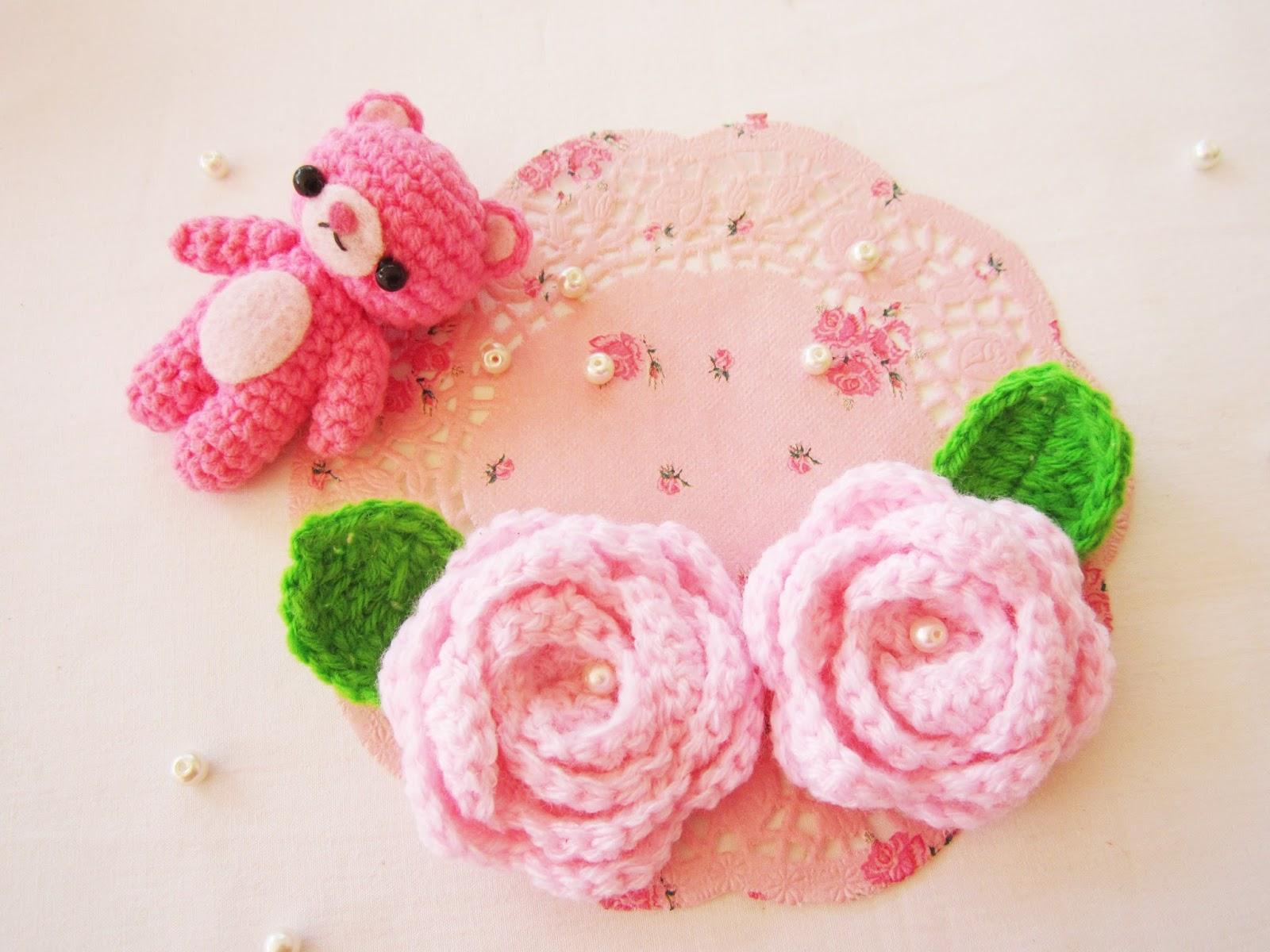 Crochet roses - A little love everyday!