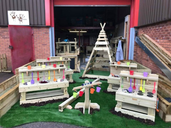 Mud Kitchen Review Landscapes4Learning