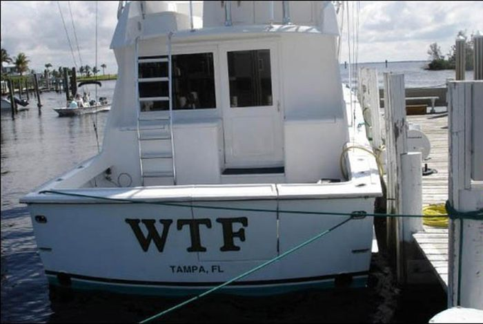 funny boat names damn cool pictures