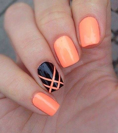 Easy and Simple Nail Design