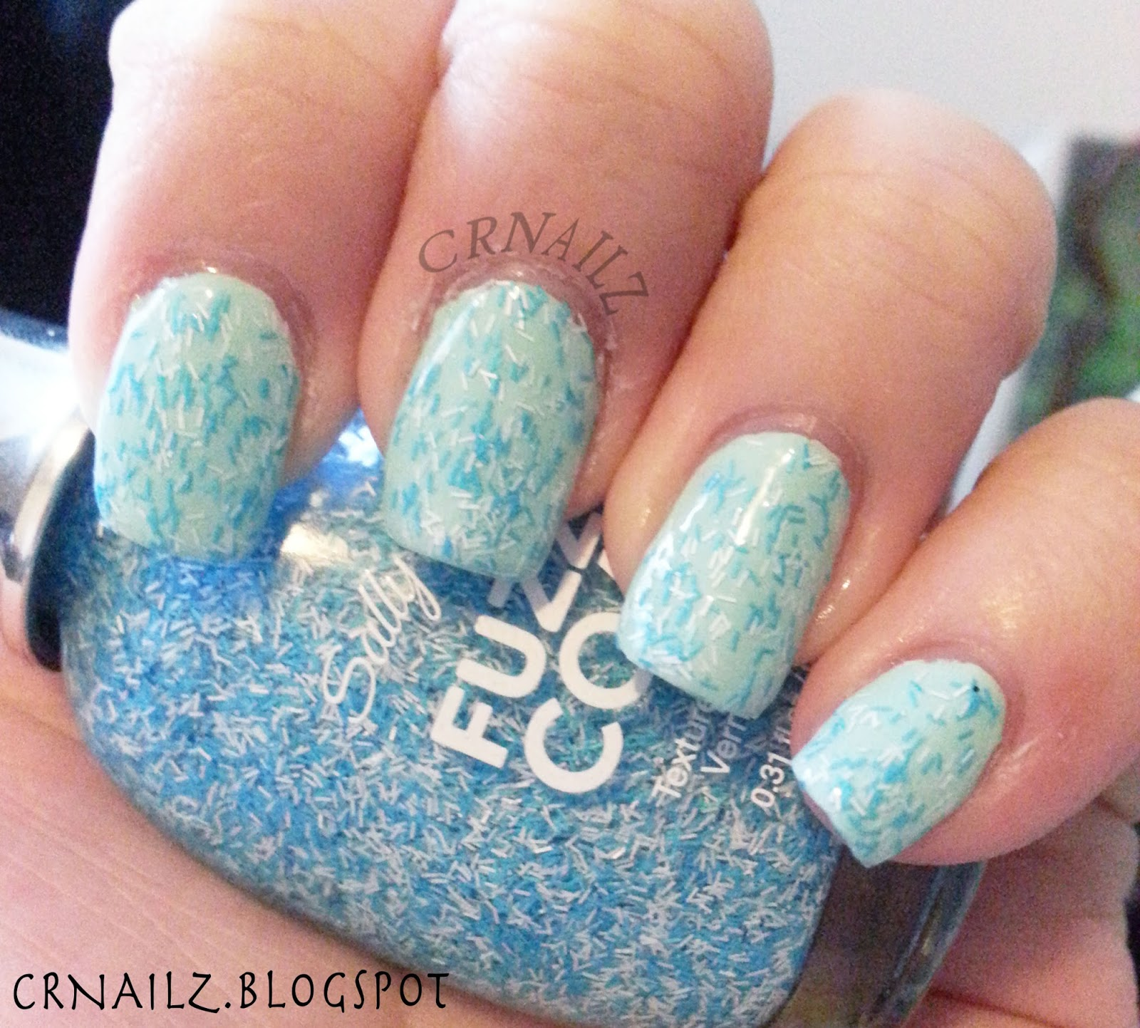 CRNailz: Sally Hansen Fuzzy Coat Polish : Wool Knot