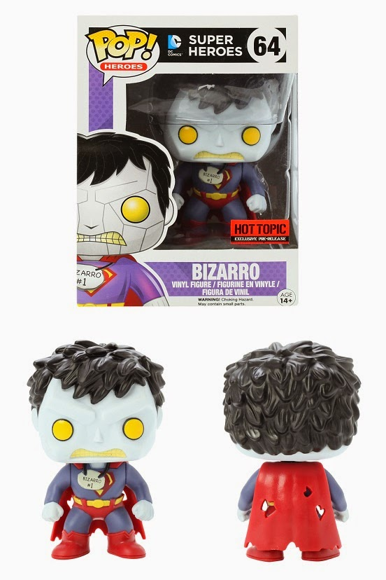 Hot Topic Exclusive Bizarro DC Comics Pop! Vinyl Figure by Funko