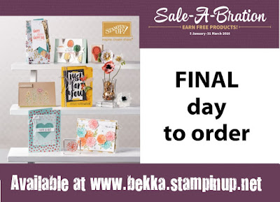 Last Day of Sale-a-Bration - Grab your bargains here