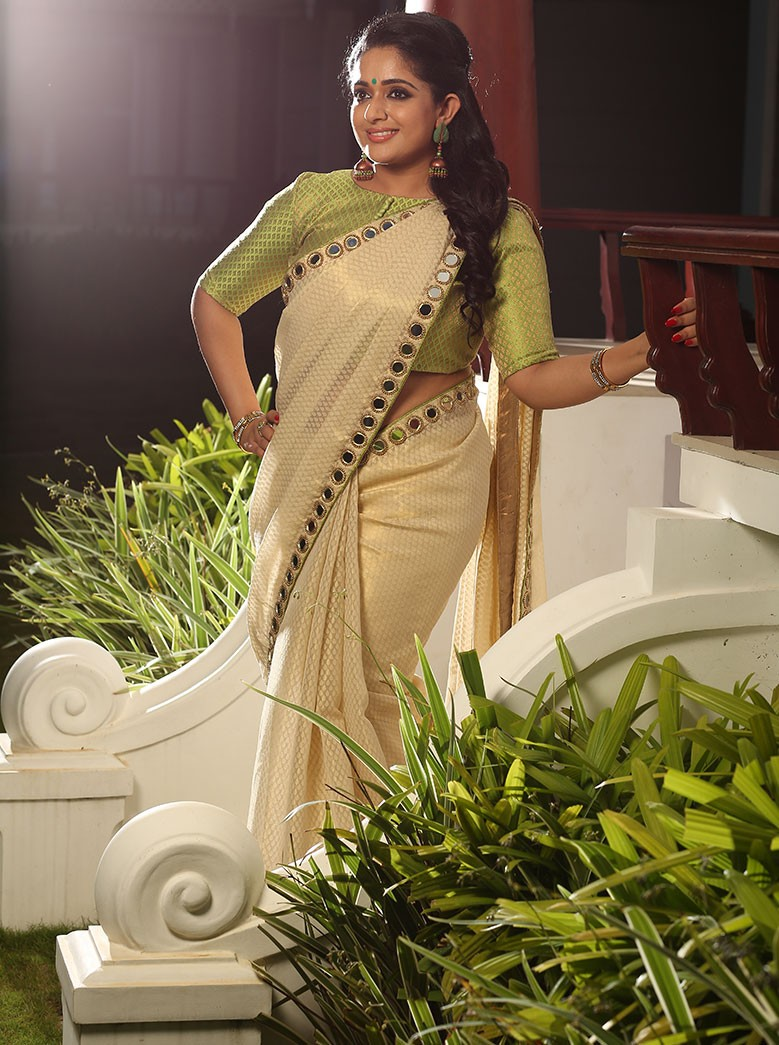 Kavya Madhavan Latest Photos In Saree For Laksyah